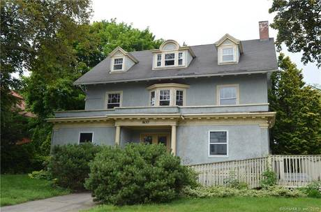 Foreclosure: Single Family Home Sold in Bridgeport CT 06604. Old colonial house near waterfront with 2 car garage.