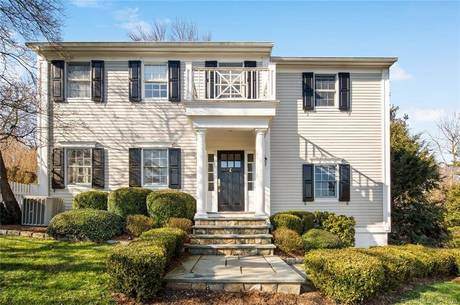 Single Family Home For Sale in Darien CT 06820. Old colonial house near beach side waterfront.