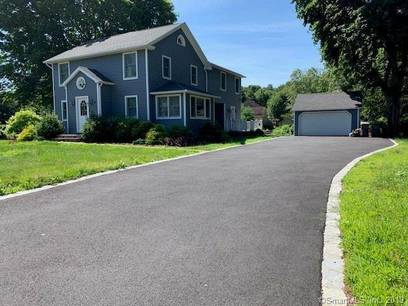 Single Family Home Sold in Monroe CT 06468. Old colonial house near waterfront with 2 car garage.