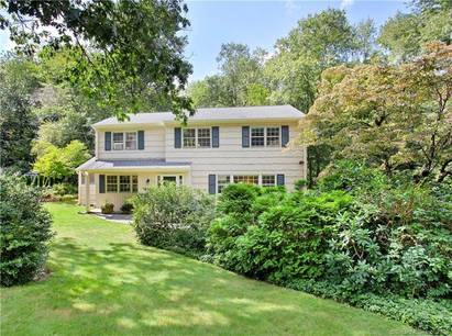 Single Family Home Sold in Stamford CT 06903. Colonial house near river side waterfront with 2 car garage.