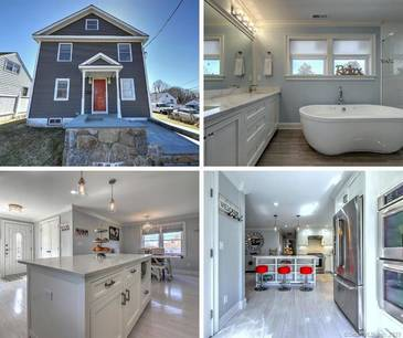 Single Family Home Sold in Bridgeport CT 06606. Colonial house near waterfront.