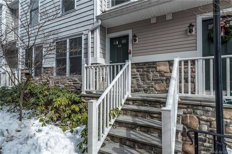 Condo Home Sold in Stamford CT 06907.  townhouse near river side waterfront with swimming pool and 1 car garage.
