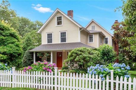 Single Family Home For Rent in Darien CT 06820. Old  farm house near beach side waterfront with 1 car garage.