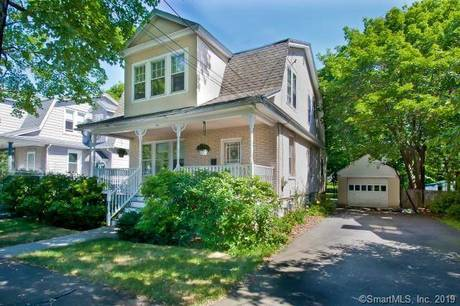 Single Family Home Sold in Fairfield CT 06825. Old colonial house near waterfront with 1 car garage.