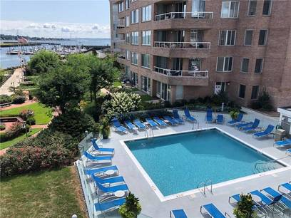 Condo Home Sold in Stamford CT 06902.  house near waterfront with swimming pool and 2 car garage.