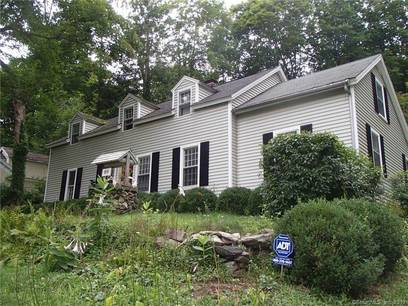 Single Family Home Sold in Newtown CT 06482. Old  cape cod house near waterfront with 1 car garage.