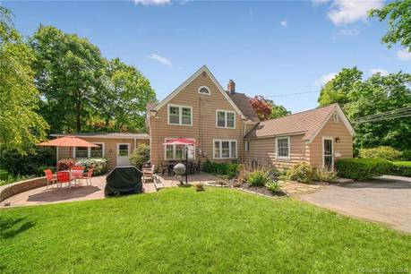 Single Family Home For Sale in Bethel CT 06801. Old colonial, tudor house near waterfront with 1 car garage.