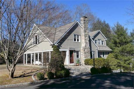 Single Family Home Sold in Weston CT 06883. Old colonial farm house near beach side waterfront with 2 car garage.