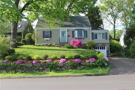 Single Family Home Sold in Norwalk CT 06851. Old  cape cod house near beach side waterfront with 1 car garage.
