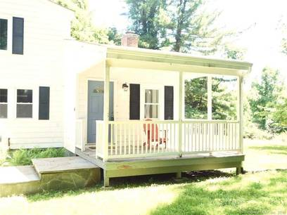 Single Family Home Sold in Weston CT 06883. Old colonial farm house near river side waterfront with 1 car garage.