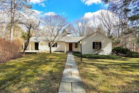 Single Family Home Sold in Weston CT 06883. Ranch house near river side waterfront with 2 car garage.