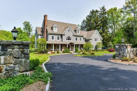 Mansion Sold in Wilton CT 06897. Big colonial house near waterfront with 3 car garage.