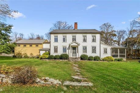 Single Family Home Sold in Redding CT 06896. Old colonial, antique house near waterfront with 2 car garage.