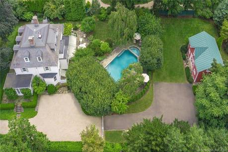 Single Family Home Sold in Fairfield CT 06890. Old colonial, antique house near beach side waterfront with swimming pool and 2 car garage.