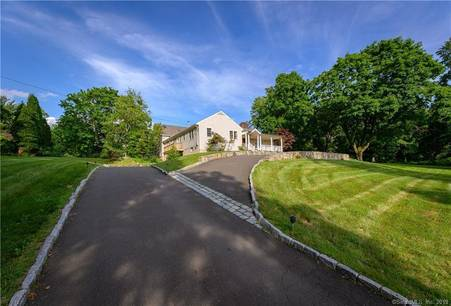 Foreclosure: Single Family Home Sold in Greenwich CT 06831. Contemporary house near waterfront with swimming pool and 2 car garage.