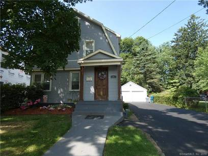 Single Family Home Sold in Stratford CT 06614. Old colonial house near beach side waterfront with 2 car garage.