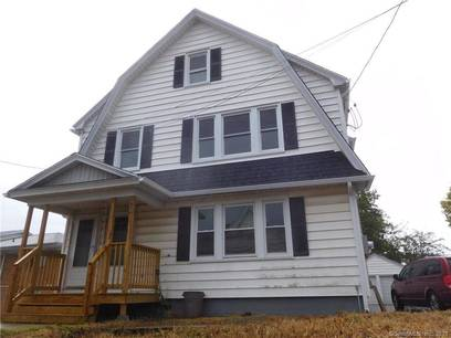 Multi Family Home Sold in Stratford CT 06614. Old  house near beach side waterfront with 2 car garage.