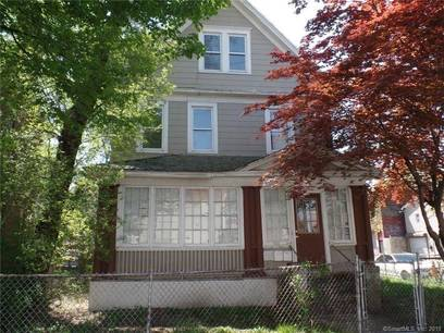 Multi Family Home Sold in Bridgeport CT 06607. Old  house near waterfront with 1 car garage.