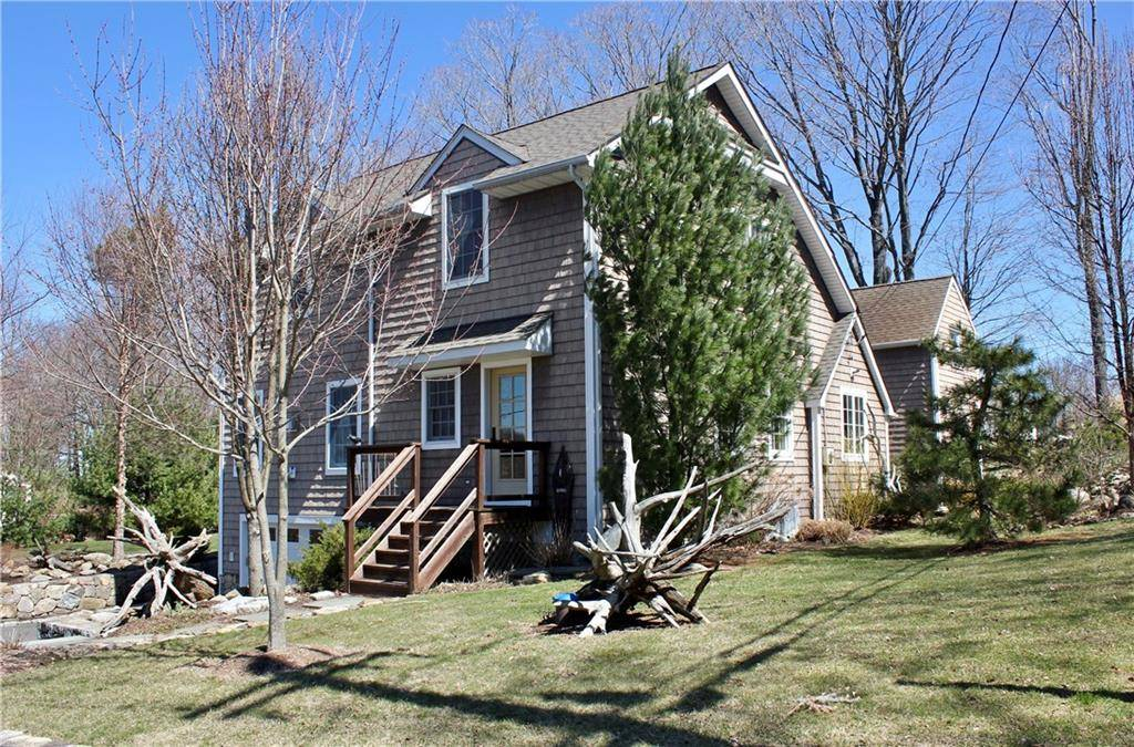 Single Family Home Sold in Danbury CT 06811. Old colonial saltbox house near beach side waterfront with 1 car garage.