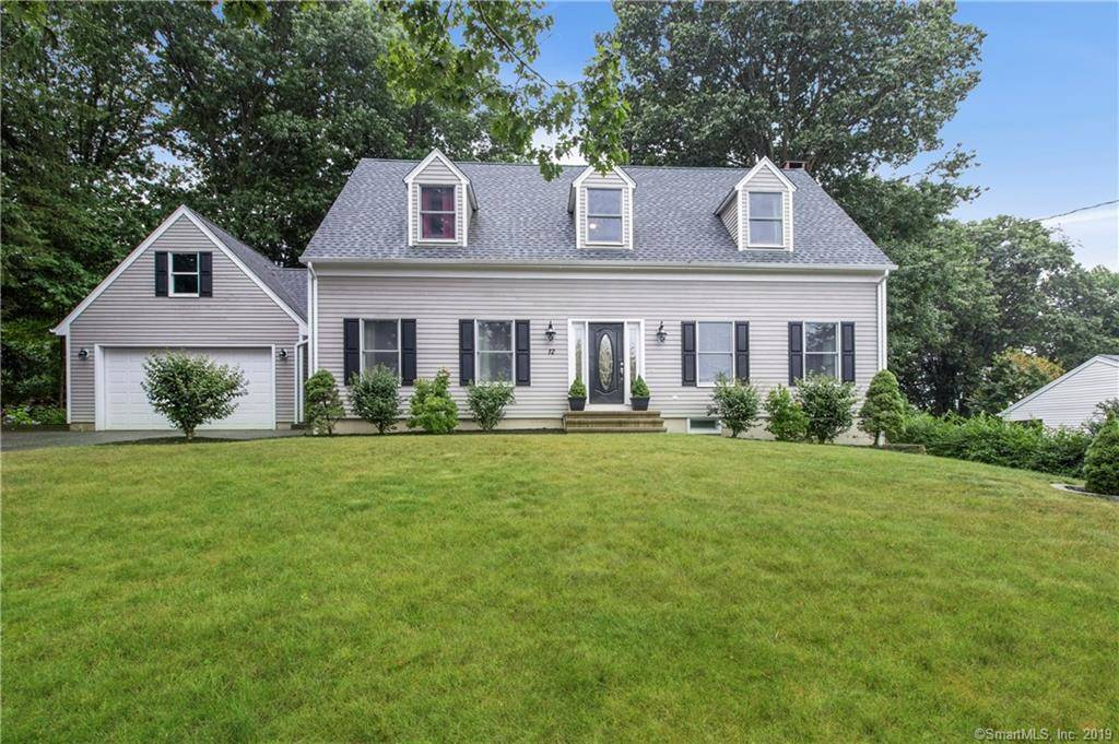 Single Family Home Sold in Bethel CT 06801.  cape cod house near waterfront with 2 car garage.