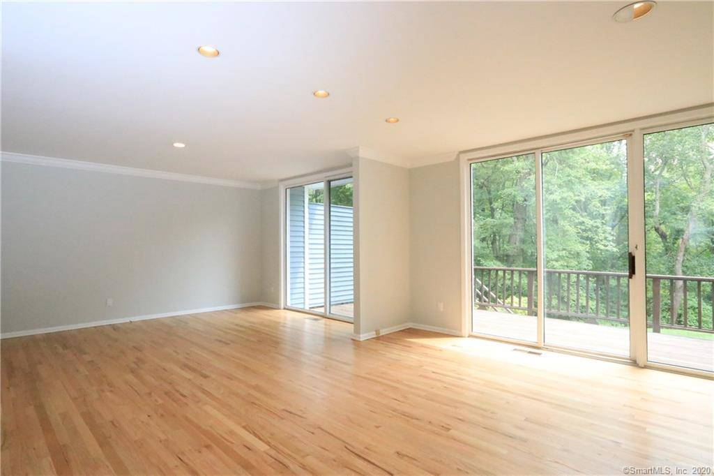 Condo Home Sold in Westport CT 06880.  townhouse near beach side waterfront with swimming pool and 2 car garage.
