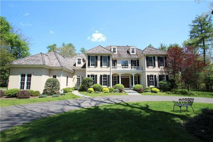 Mansion Sold in Fairfield CT 06824. Big colonial, georgian house near waterfront with swimming pool and 3 car garage.