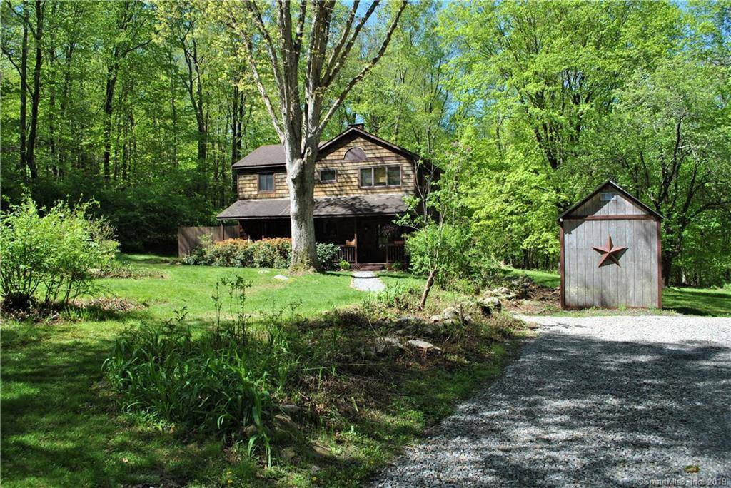 Single Family Home Sold in Redding CT 06896. Old  cape cod house near waterfront.