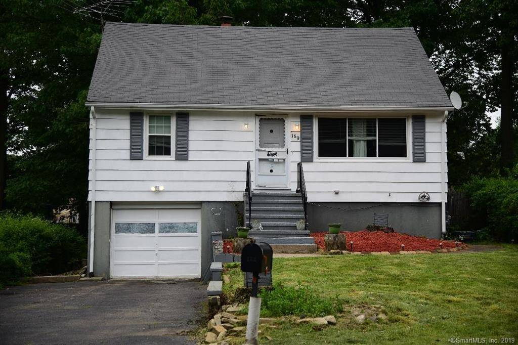 Single Family Home Sold in Bridgeport CT 06606.  cape cod house near lake side waterfront with 1 car garage.