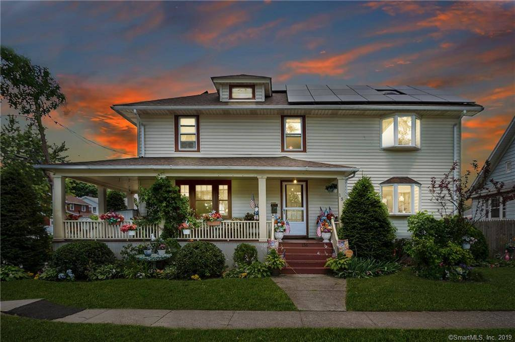 Single Family Home For Sale in Stratford CT 06615. Old colonial house near waterfront with 2 car garage.