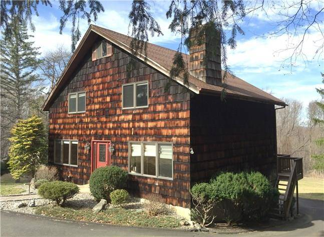 Single Family Home Sold in Danbury CT 06811. Contemporary chalet house near waterfront with 2 car garage.