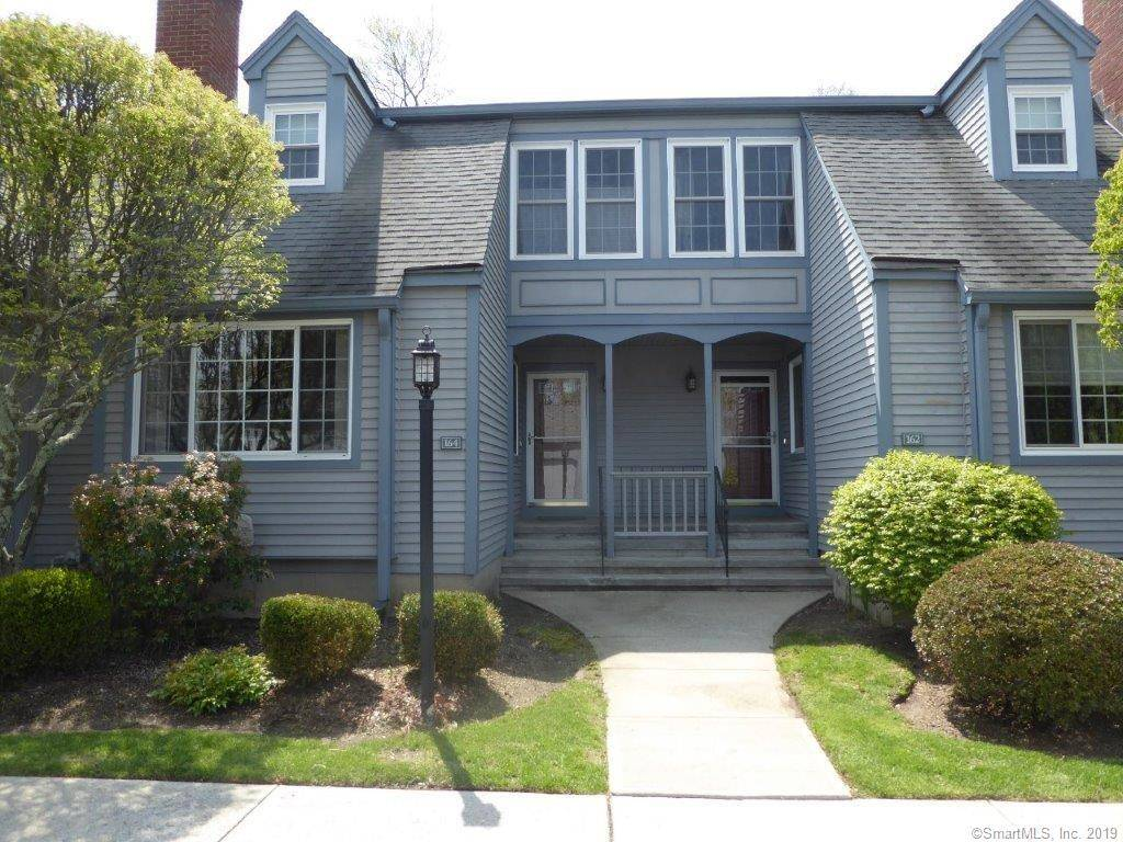 Condo Home Sold in Fairfield CT 06825.  townhouse near beach side waterfront with swimming pool and 1 car garage.