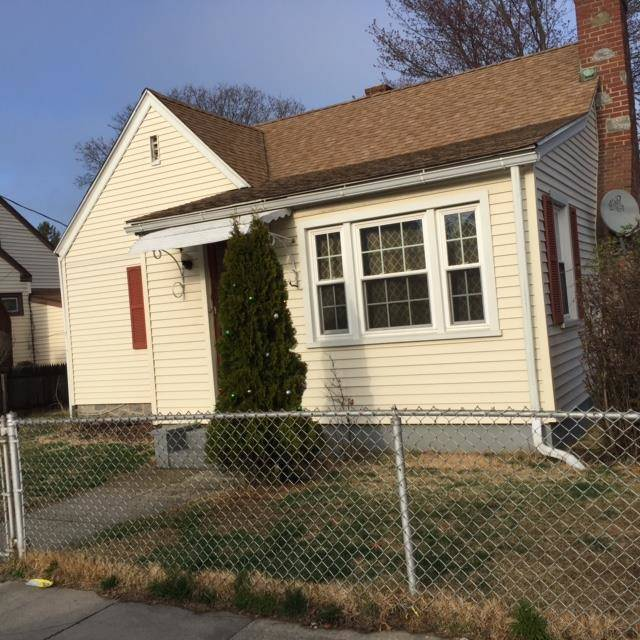 Short Sale: Single Family Home Sold in Bridgeport CT 06605.  cape cod house near waterfront with 1 car garage.