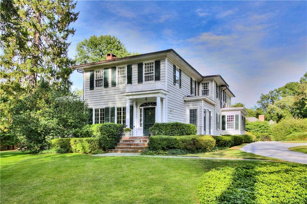 Single Family Home Sold in Darien CT 06820. Old colonial house near waterfront with swimming pool and 3 car garage.