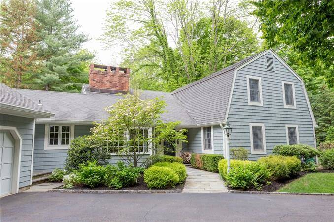 Single Family Home Sold in Weston CT 06883. Colonial cape cod house near river side waterfront with 2 car garage.