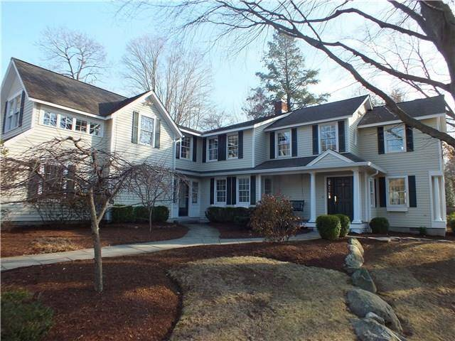 Single Family Home Sold in Westport CT 06880. Old colonial, antique house near beach side waterfront with 3 car garage.