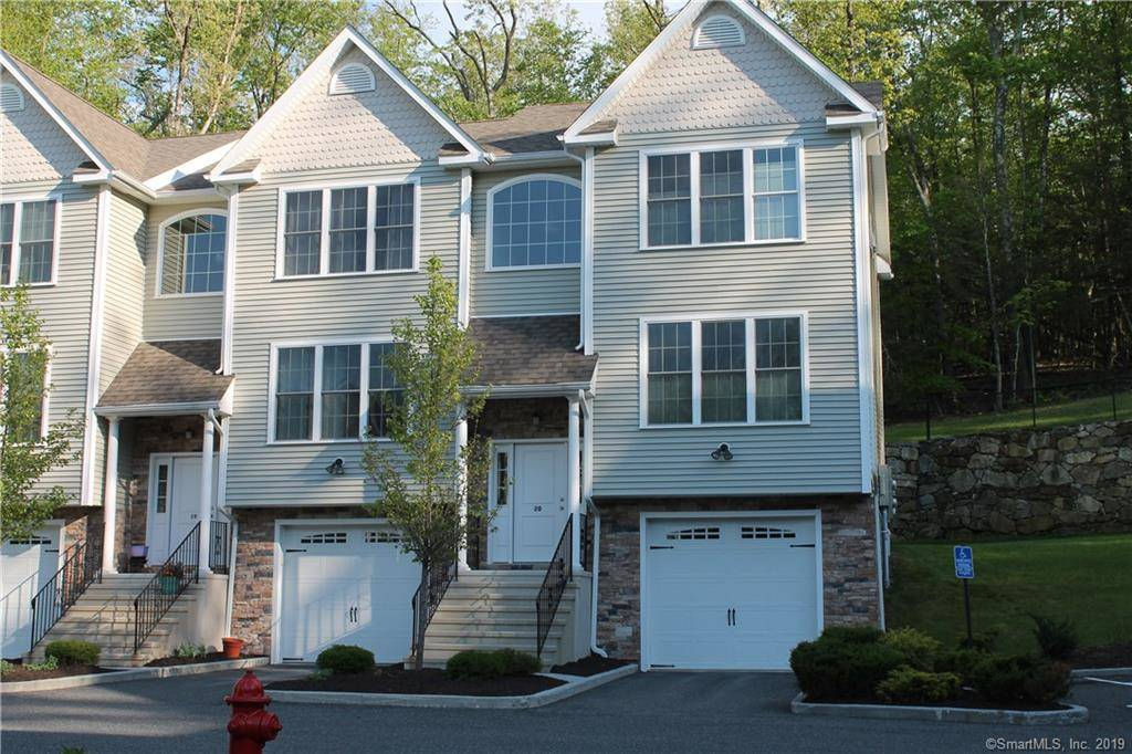 Condo Home Sold in Brookfield CT 06804.  townhouse near beach side waterfront with swimming pool and 1 car garage.