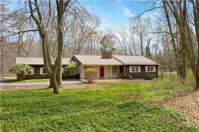 Single Family Home Sold in Wilton CT 06897. Ranch house near river side waterfront with 2 car garage.