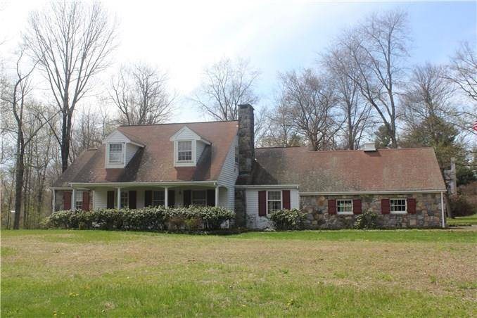 Single Family Home Sold in Danbury CT 06811.  cape cod house near waterfront with 2 car garage.