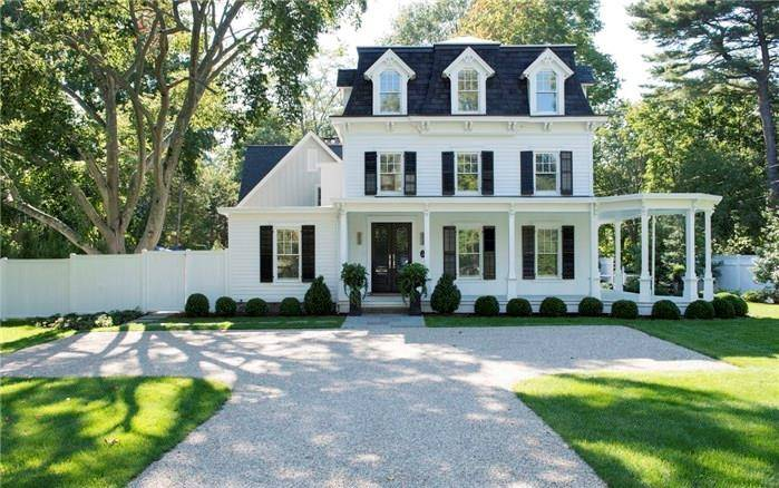 Luxury Single Family Home Sold in Norwalk CT 06853. Old victorian, colonial house near waterfront.