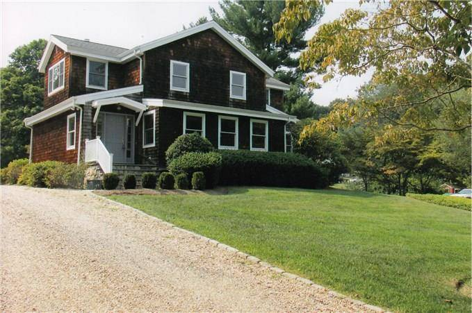 Single Family Home Rented in Weston CT 06883. Old colonial house near beach side waterfront.