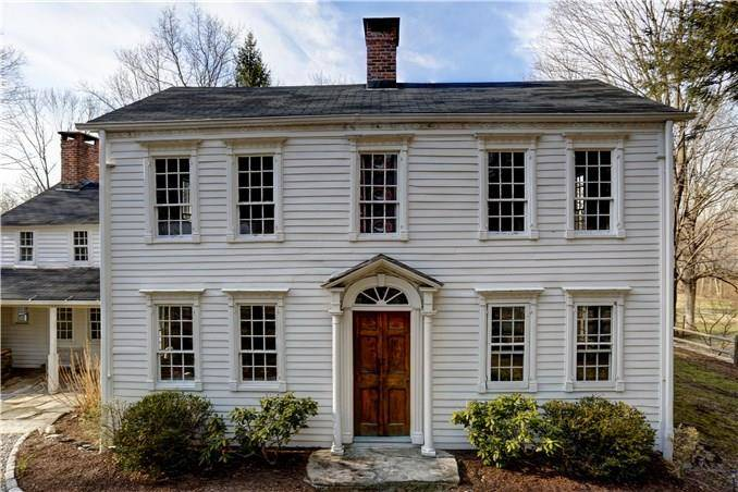 Single Family Home Sold in Redding CT 06896. Old antique house near waterfront with 2 car garage.