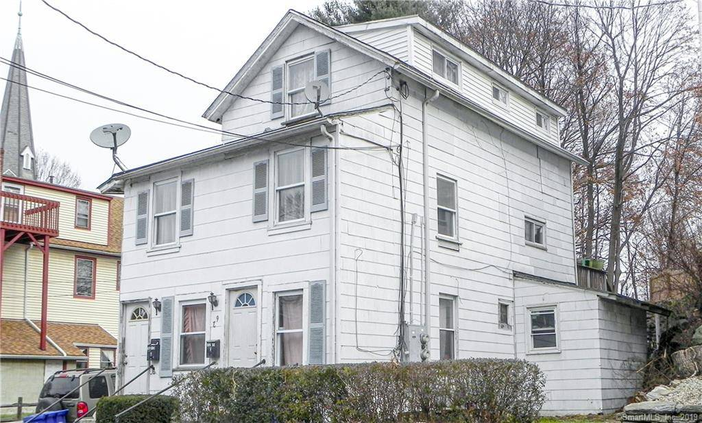 Multi Family Home For Sale in Norwalk CT 06854. Old  house near beach side waterfront.