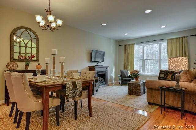 Condo Home Sold in Brookfield CT 06804.  townhouse near waterfront with swimming pool and 1 car garage.