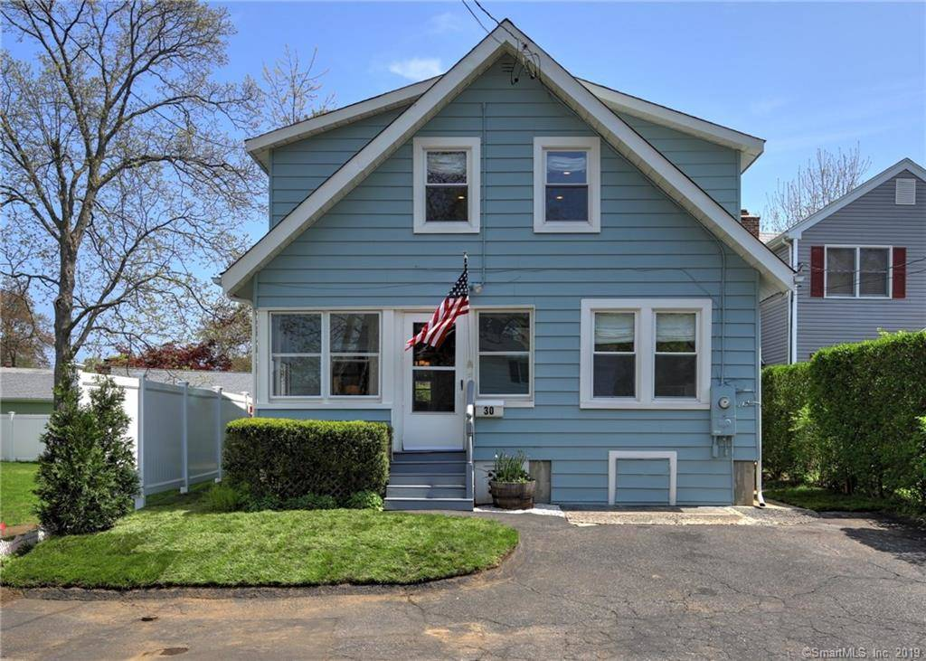 Single Family Home Sold in Norwalk CT 06855. Old  cape cod house near waterfront.