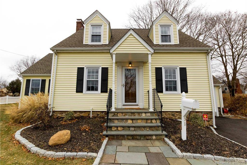Single Family Home Sold in Trumbull CT 06611. Old  cape cod house near waterfront with 1 car garage.