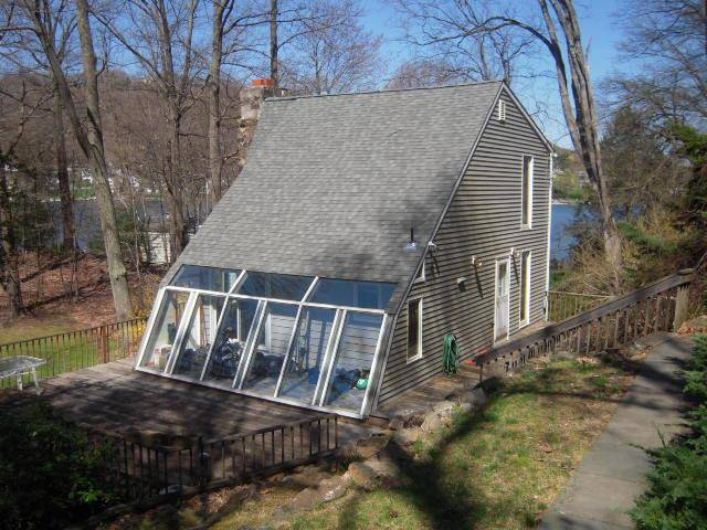 Single Family Home Rented in New Fairfield CT 06812. Contemporary house near beach side waterfront.