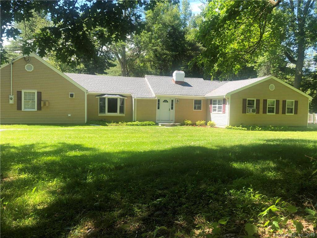 Single Family Home Sold in Stamford CT 06903. Old ranch house near lake side waterfront with 2 car garage.