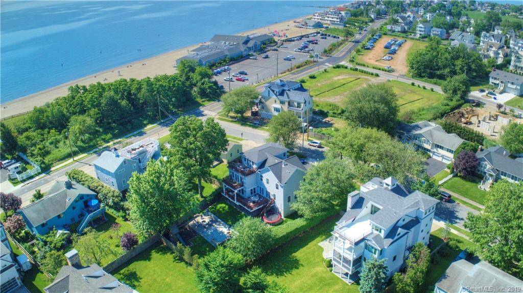 Luxury Single Family Home Sold in Fairfield CT 06824. Colonial house near beach side waterfront with 5 car garage.