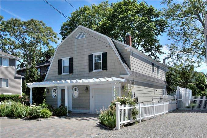 Single Family Home Sold in Westport CT 06880. Old  cape cod house near beach side waterfront with 1 car garage.
