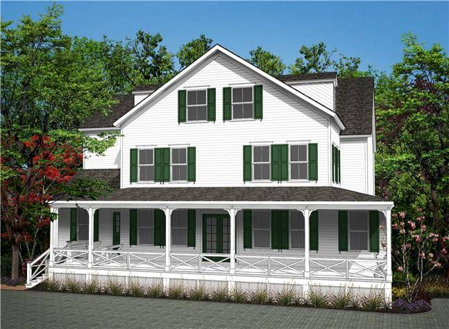 Condo Home Sold in Ridgefield CT 06877. Colonial house near waterfront with 1 car garage.